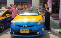 Thái Lan ra mắt taxi cho người cao tuổi