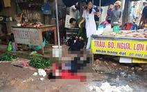 Bị bắn liên tiếp đến chết khi đang bán đậu phụ trong chợ