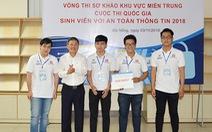 Duy Tân vô địch cuộc thi 'Sinh viên với an toàn thông tin 2018' miền Trung