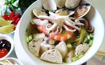 Phở đậu bo hải sản dễ ghiền