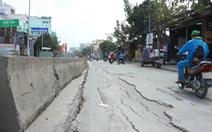 Thi công đường Huỳnh Tấn Phát bầy hầy, các nhà thầu bị phạt 427 triệu đồng