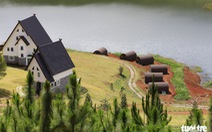 Xử lý 19 nhà gỗ dựng trong vùng cấm hồ Tuyền Lâm