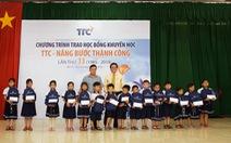 """520 học sinh, sinh viên nhận học bổng """"TTC – Nâng bước thành công"""" lần thứ 33"""