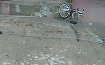 Dây điện đứt khiến 2 học sinh tử vong tại Long An: do sét đánh