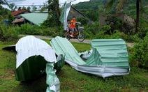 Phú Yên: Lốc xoáy làm hơn 100 ngôi nhà sập, tốc mái