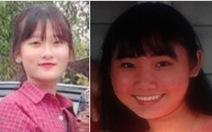 Cảnh sát Canada nhờ tìm kiếm hai nữ sinh Việt mất tích