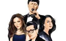 Tuấn Ngọc, Thanh Hà, Hà Anh Tuấn, Mỹ Tâm với The Master of Symphony
