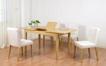 5 mẫu bàn ăn phổ biến nhất dành cho nhà nhỏ