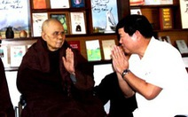 Ban Tôn giáo Chính phủ thăm thiền sư Thích Nhất Hạnh