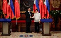 Philippines, Trung Quốc ký thỏa thuận khai thác dầu khí chung