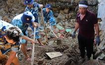Đã có 17 người chết sau vụ sạt lở núi tại Nha Trang