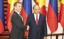 Thủ tướng Medvedev: Việt - Nga là quan hệ đặc biệt