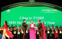 """MM Mega Market Việt Nam nhận giải thưởng """"Doanh nghiệp vì nhà nông"""""""