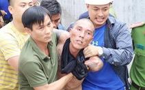 Người đàn ông nghi 'ngáo đá' dọa ném con từ nhà ba tầng