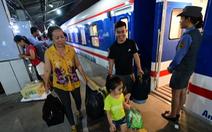 Đường sắt chạy thêm nhiều đoàn tàu dịp Tết dương lịch