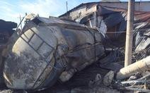 Xe bồn chở xăng gặp tai nạn gây cháy kinh hoàng như thế nào?