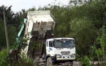 Vụ dùng rác thải san lấp mặt bằng: Có thể xử lý hình sự