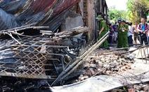Cận cảnh hiện trường vụ cháy xe bồn chở xăng, 6 người chết