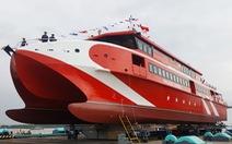 Hạ thủy tàu cao tốc hai thân 'khủng' nhất Việt Nam