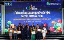 Unilever Việt Nam lọt Top 10 Doanh nghiệp bền vững xuất sắc nhất