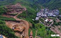 Công an thụ lý hồ sơ vụ sạt lở chết người tại dự án núi Cô Tiên