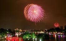 Hà Nội bất ngờ đưa 60 giàn pháo hoa bắn mừng Đại hội thể thao toàn quốc