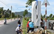 Đặt 76 tượng điêu khắc trên tuyến đường đẹp nhất Châu Đốc