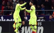 Barca may mắn có 1 điểm ở Madrid