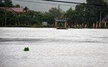 Phú Yên sơ tán hàng trăm hộ dân tránh lũ