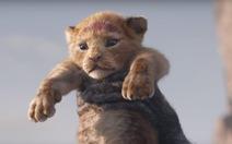 Sư tử Simba làm tan chảy trái tim khán giả trong phiên bản mới