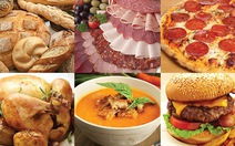 Thực phẩm nên tránh khi bị loãng xương