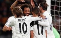 Real Madrid giành vé đi tiếp với ngôi đầu bảng