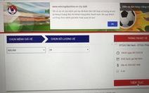Đã bán hết vé trận lượt về Việt Nam – Philippines?
