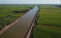 Bến Tre đưa vào sử dụng hồ chứa nước ngọt 1 triệu m3 đầu tiên