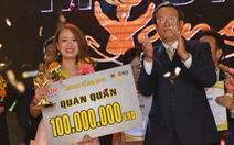 Phạm Thị Phương Thảo giành giải nhất Micro vàng 2018