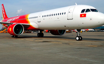 Máy bay Vietjet lại bị sự cố, hạ cánh khẩn cấp ở Đài Loan