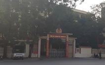 Tạm đình chỉ trưởng Công an TP Thanh Hóa để thanh tra vụ 'chạy án'