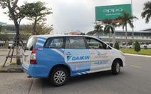 Taxi tại sân bay Đà Nẵng bỏ chuyến để phản đối Grab