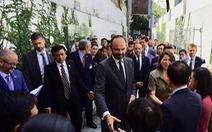 Thủ tướng Pháp Édouard Philippe dự khánh thành cụm hoạt động y tế tại TP.HCM
