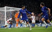 Morata tỏa sáng, Chelsea lên nhì bảng