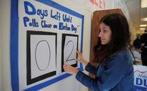 Bầu cử giữa kỳ ở Mỹ: quan trọng ở lá phiếu cử tri trẻ