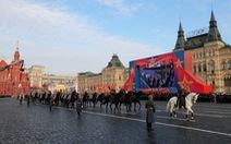 Nga tái hiện cuộc duyệt binh lịch sử trên Quảng trường Đỏ