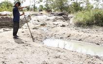 Ninh Thuận mưa ít, các hồ chứa tiếp tục trơ đáy