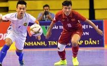 Futsal Việt Nam thua Malaysia ở bán kết Giải Đông Nam Á 2018
