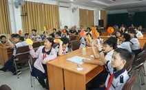 Trường tiểu học TP.HCM mời phụ huynh dự giờ học của con