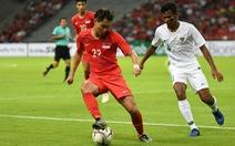 Singapore thắng sát nút Indonesia trong trận cầu đầy căng thẳng