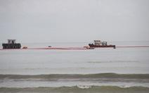Tàu tiếp dầu húc toác cầu cảng ở Đà Nẵng