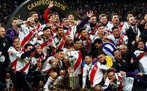 Đá bại 10 người Boca Juniors, River Plate vô địch Copa Libertadores
