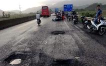 Phú Yên: 1 người chết oan vì sụp 'ổ voi' trên quốc lộ 1