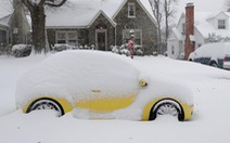 Hàng trăm ngàn nhà ở Mỹ mất điện vì bão tuyết